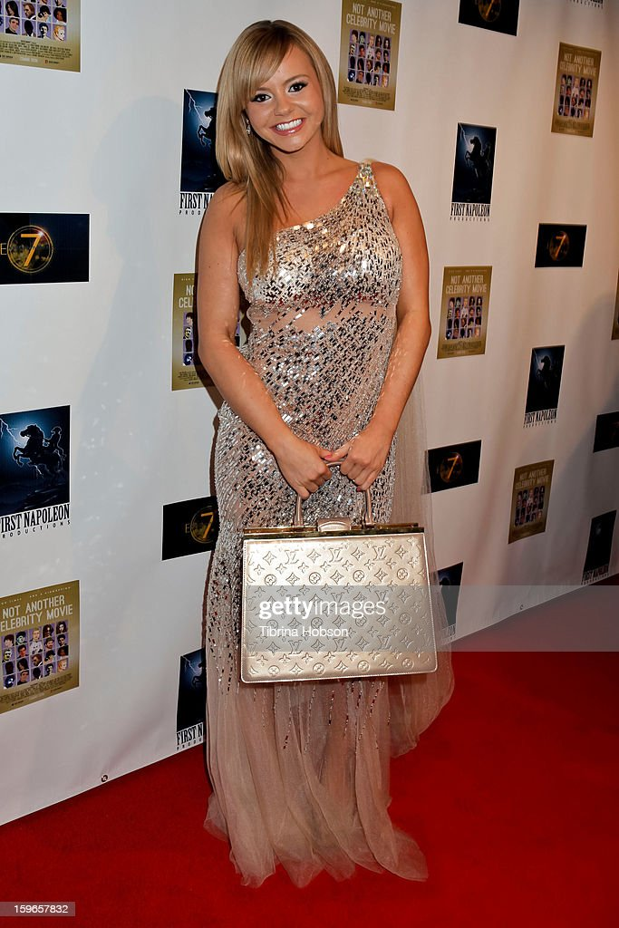 Bree Olson attends the 'Not Another Celebrity Movie' Los Angeles premiere at Pacific Design Center on January 17, 2013 in West Hollywood, California.