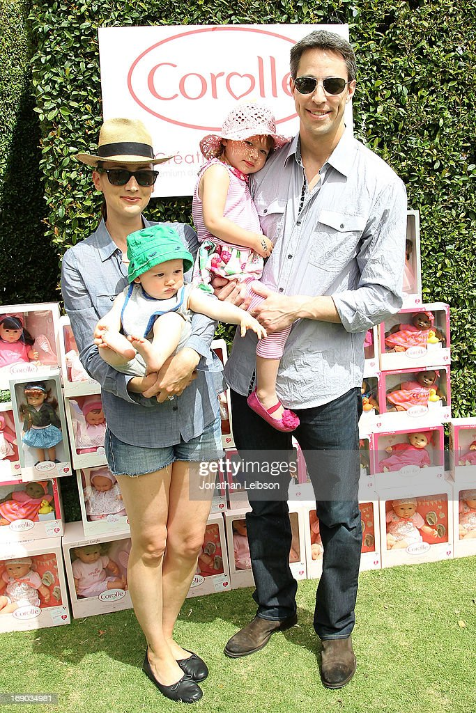 <a gi-track='captionPersonalityLinkClicked' href=/galleries/search?phrase=Bree+Turner&family=editorial&specificpeople=233811 ng-click='$event.stopPropagation()'>Bree Turner</a>, Dean Saliman, Stella Jean Saliman and Justin Saliman attend the Corolle Adopt a Doll Event at The Grove on May 18, 2013 in Los Angeles, California.