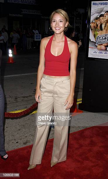 Bree Turner during 'Jay Silent Bob Strike Back' Los Angeles Premiere at Mann's Bruin Theater in Westwood California United States