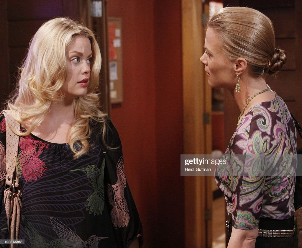 LIVE - Bree Williamson (Jessica) and Gina Tognoni (Kelly) in a scene that airs the week of June 14, 2010 on ABC Daytime's 'One Life to Live.' 'One Life to Live' airs Monday-Friday (2:00 p.m. - 3:00 p.m., ET) on the ABC Television Network. OLTL10 (Photo by Heidi Gutman/ABC via Getty Images) BREE