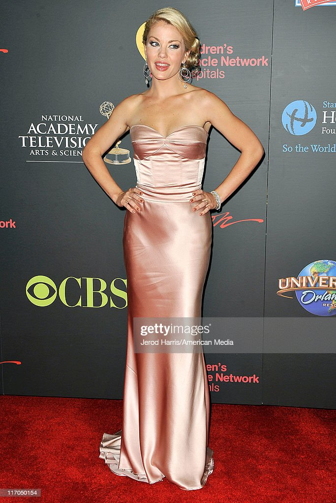 Bree Williamson arrives at 38th Annual Daytime Entertainment Emmy Awards For Soap Opera Weekly on June 19, 2011 in Las Vegas, Nevada.