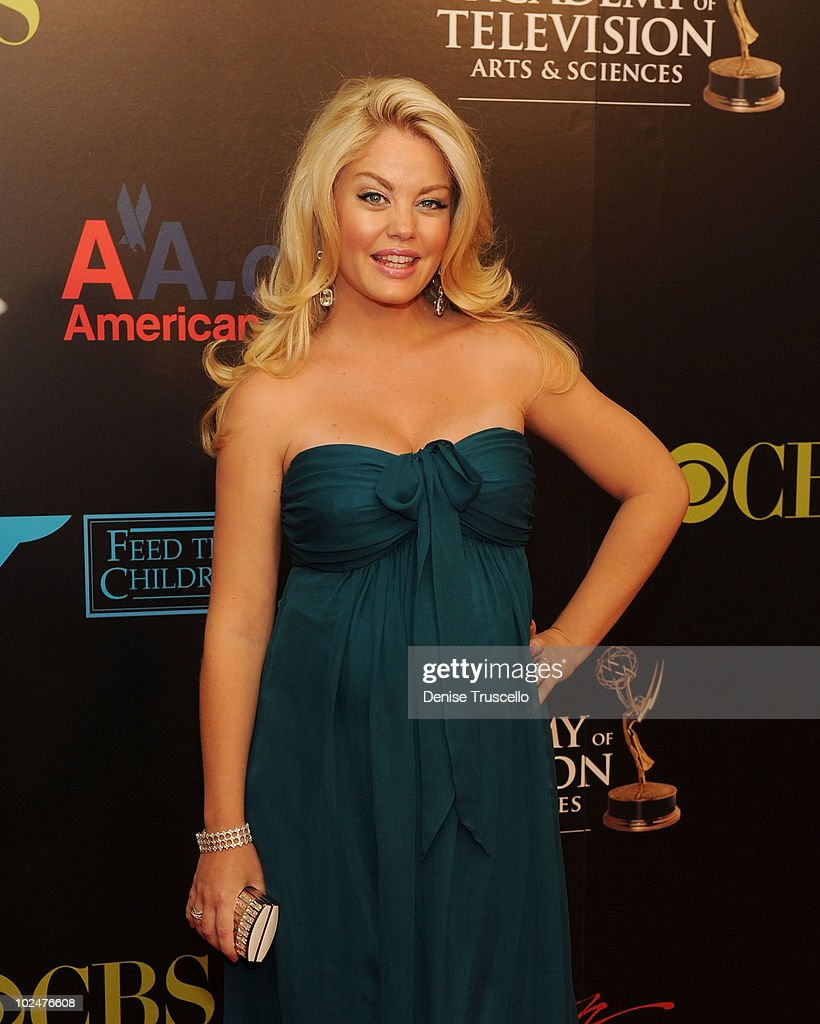Bree Williamson arrives at the 37th Annual Daytime Emmy Awards at Las Vegas Hilton on June 27, 2010 in Las Vegas, Nevada.