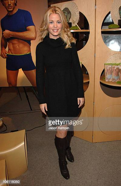 Bree Williamson during Launch Of 2ist Soy Collection October 5 2006 at Saks Fifth Avenue in New York City New York United States
