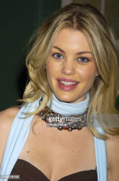 Bree Williamson during The 32nd Annual Daytime EMMY Awards Nomination Announcements at CBS Guiding Light Stages in New York City New York United...