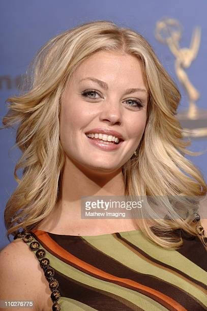 Bree Williamson presenter during 33rd Annual Daytime Emmy Awards Press Room at Kodak Theater in Hollywood California United States