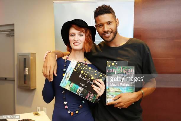 Breeda Wool and Jeffrey BowyerChapman attend Kari Feinstein's Style Lounge presented by Ocean Spray on September 15 2017 in Los Angeles California
