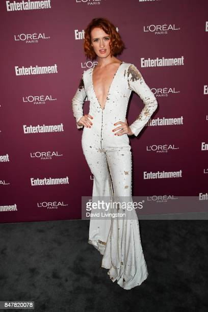 Breeda Wool attends the Entertainment Weekly's 2017 PreEmmy Party at the Sunset Tower Hotel on September 15 2017 in West Hollywood California