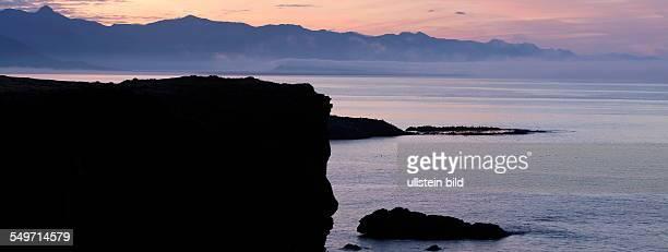 Breioavik Bay at sunrise Arnastapi Snaefellsnes Iceland