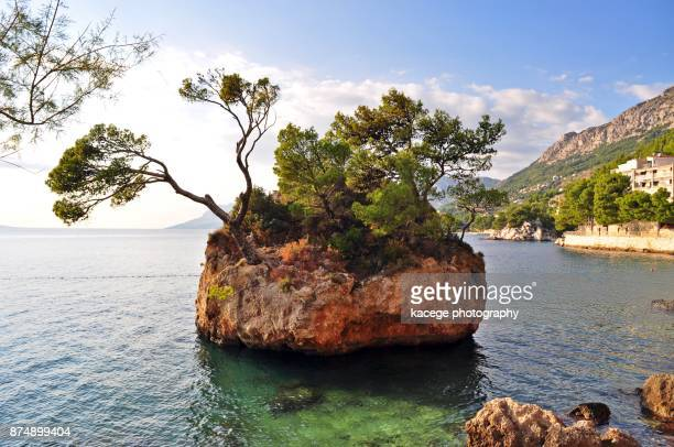 Brela rock, Dalmatia