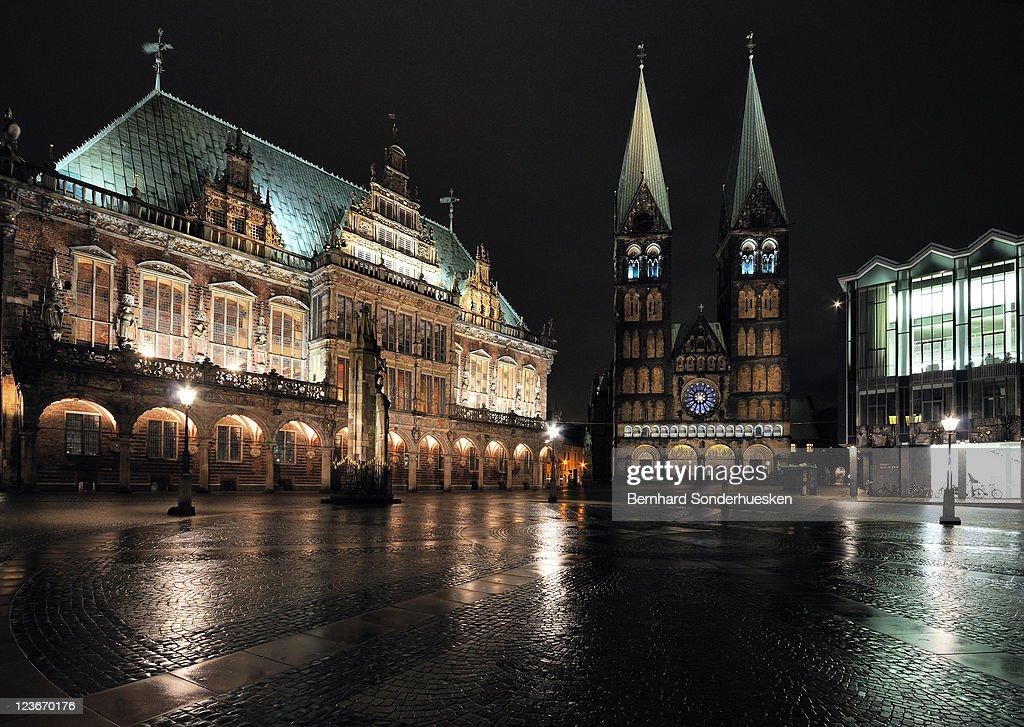 Bremen - Market Square : Stock Photo