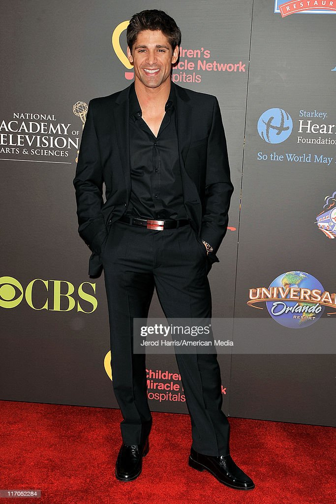 Bren Foster arrives at 38th Annual Daytime Entertainment Emmy Awards For Soap Opera Weekly on June 19, 2011 in Las Vegas, Nevada.