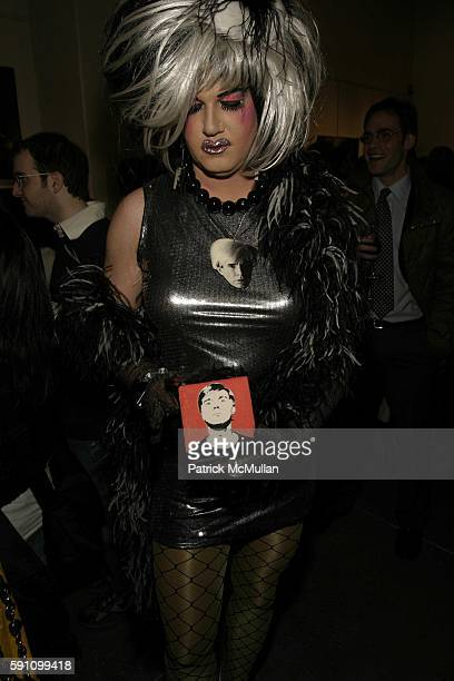 Brenda A GoGo attends Edie Sedgwick Unseen Photographs of a Warhol Superstar Opening Reception Hosted by Misha Sedgwick at Gallagher's Art and...
