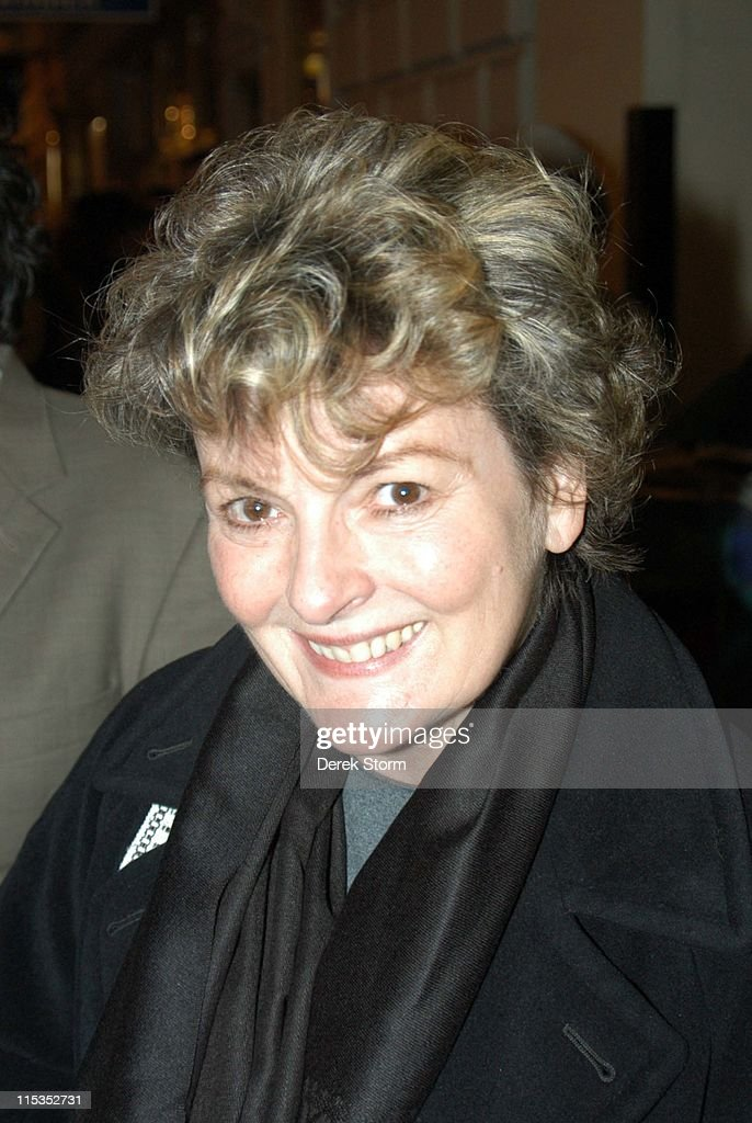 Brenda Blethyn and Edie Falco Leave the Royale Theatre after their Performance