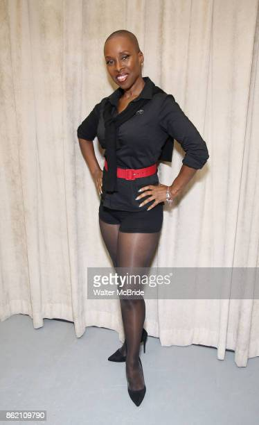 Brenda Braxton during the rehearsal for 'And The World Goes 'Round' during The Abingdon Theatre Company's 25th Anniversary Gala at the Pearl Studios...