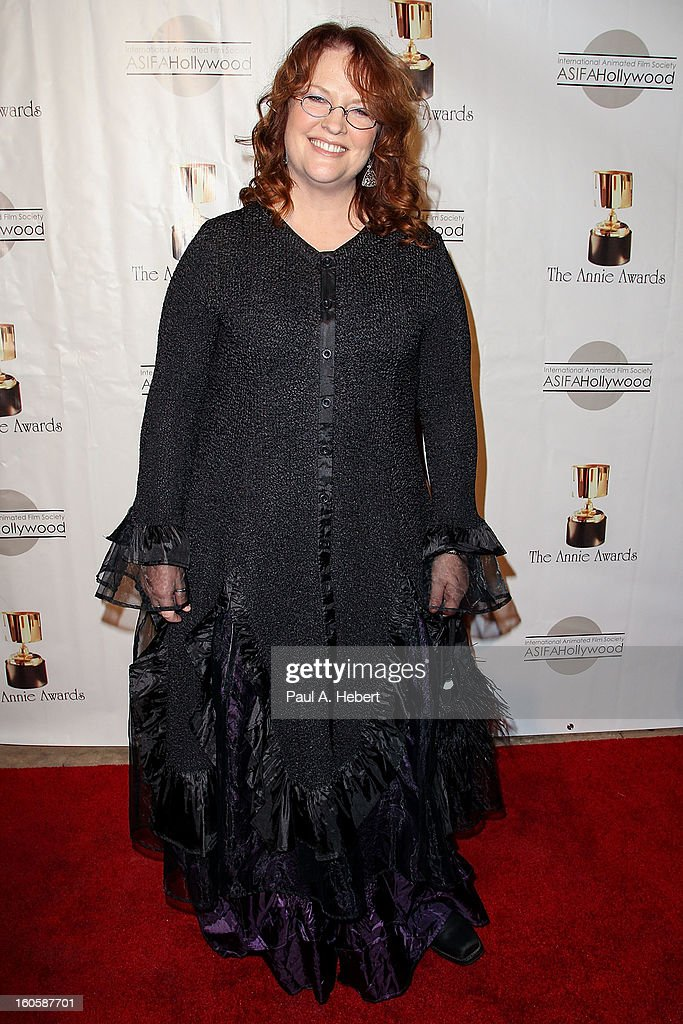 Brenda Chapman arrives at the 40th Annual Annie Awards held at Royce Hall on the UCLA Campus on February 2, 2013 in Westwood, California.