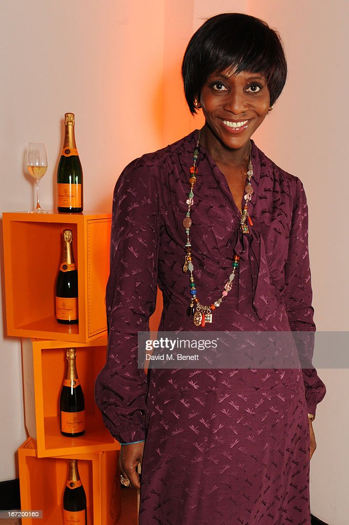 Brenda Emmanus attends the Veuve Clicquot Business Woman Award 2013 at Claridge's Hotel on April 22, 2013 in London, England.