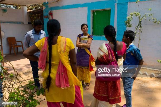 MCCLUSKIEGUNJ RANCHI JHARKHAND INDIA Brenda Gomes one of the AngloIndians living at McCluskiegunj runs an elementary school at her house Here she...