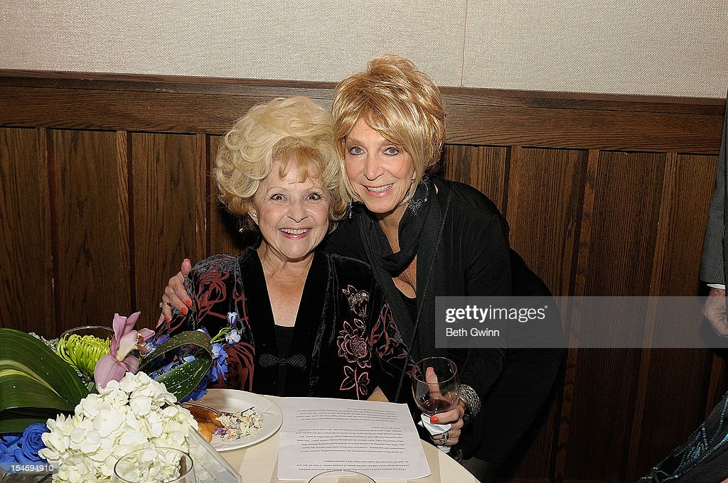 <a gi-track='captionPersonalityLinkClicked' href=/galleries/search?phrase=Brenda+Lee&family=editorial&specificpeople=584199 ng-click='$event.stopPropagation()'>Brenda Lee</a> and Jeannie Seeley attends Center Stage at The Opry celebrating Minnie Pearl's 100th at The Grand Ole Opry on October 22, 2012 in Nashville, Tennessee.