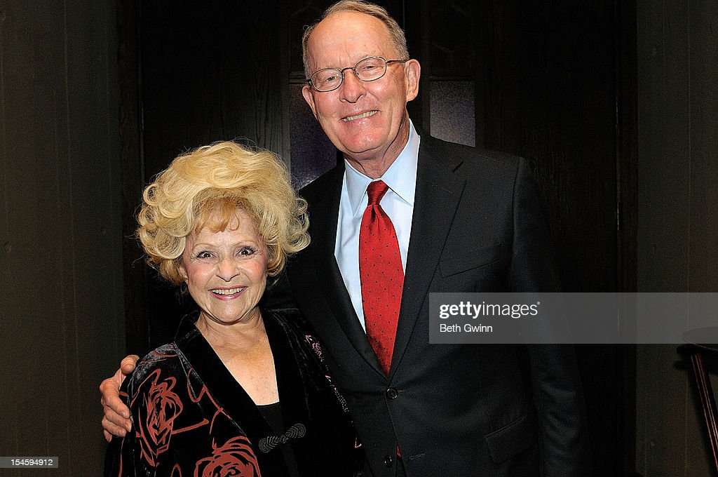 Brenda Lee and Lamar Alexander attends Center Stage at The Opry celebrating Minnie Pearl's 100th at The Grand Ole Opry on October 22, 2012 in Nashville, Tennessee.