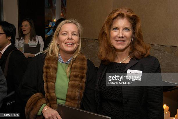 Brenda Powers and Anne Young attend Extell Development presents the Premier of The Lucida at 151 East 85th Street on March 21 2007 in New York City