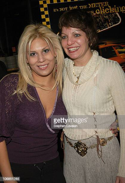 Brenda Roman and Christine Gonda during HBO Presents a Special Screening of 'Taxicab Confessions New York New York' After Party at Katz's Deli in New...