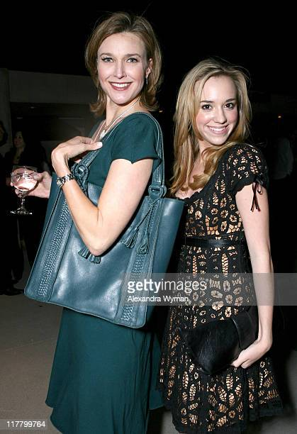 Brenda Strong and Andrea Bowen during Etoile Sparkling Wine Hosts Cate Adair Handbag Launch at Private Residence in Los Angeles California United...
