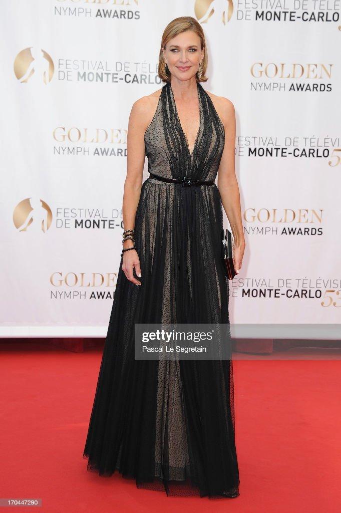 Brenda Strong attends the closing ceremony of the 53rd Monte Carlo TV Festival on June 13, 2013 in Monte-Carlo, Monaco.