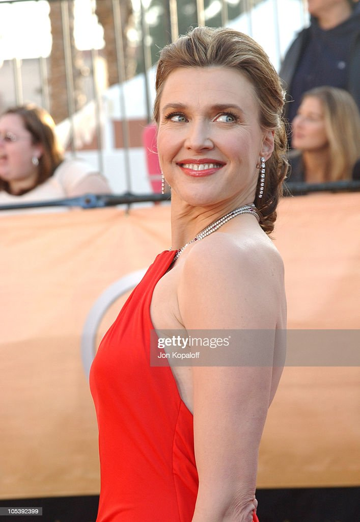 Brenda Strong during 2005 Screen Actors Guild Awards Arrivals at The Shrine in Los Angeles California United States