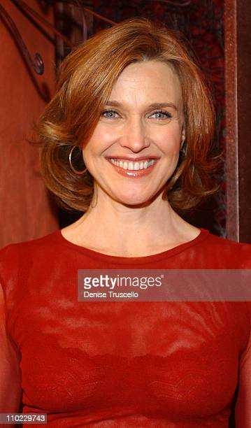 Brenda Strong during KA Cirque Du Soleil Premiere Red Carpet at MGM Grand Hotel and Casino Resort in Las Vegas Nevada United States