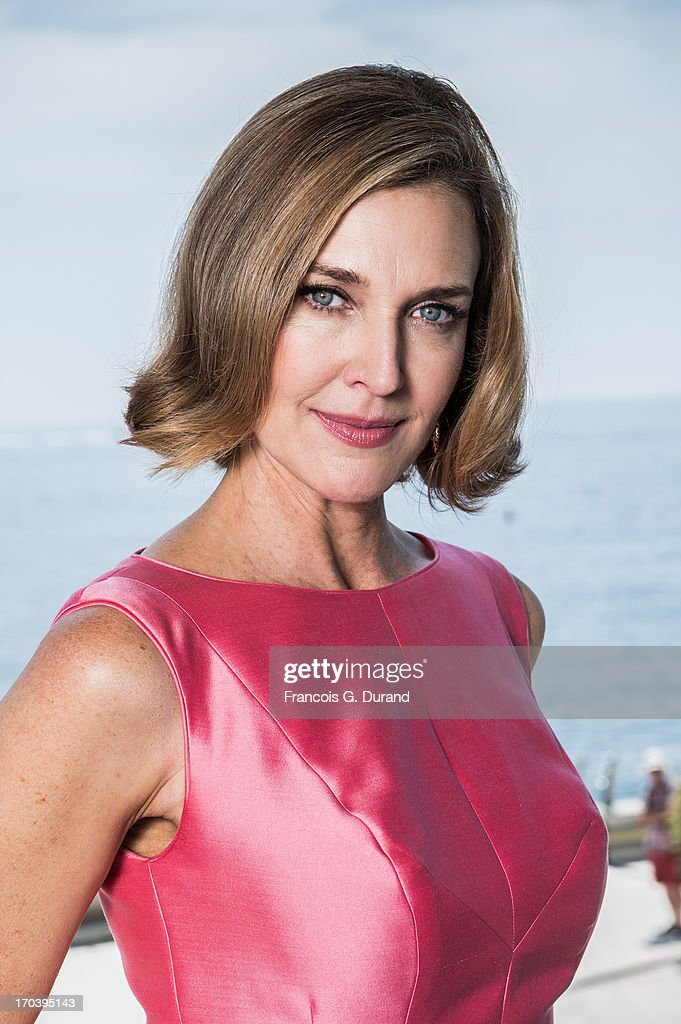 Brenda Strong poses at a portrait session during the 53rd MonteCarlo TV Festival at Grimaldi Forum on June 12 2013 in Monaco Monaco