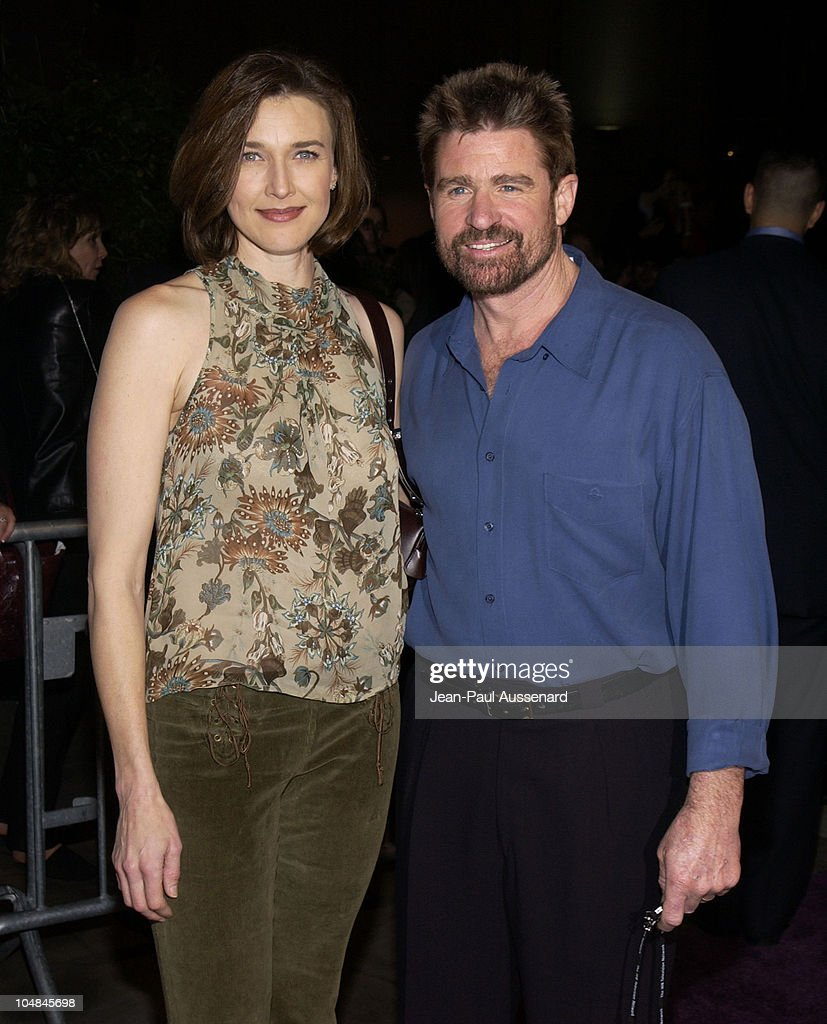 Brenda Strong Treat Williams during The WB Network AllStar Celebration Arrivals at The Highlands in Hollywood California United States