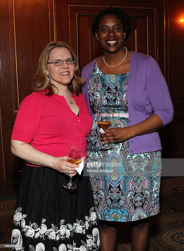 Brenda Tully and Natalie Wright-Umoh attend The New York Society For The Prevention Of Cruelty To Children's 2013 Spring Luncheon at The Pierre Hotel on April 18, 2013 in New York City.