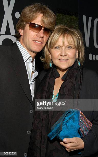 Brenda Vaccaro and husband Guy Hector during VOX Vodka and Out Magazine Honor Greg Gorman at W Hotel in Westwood California United States