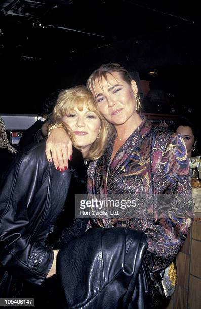 Brenda Vaccaro and Margaux Hemingway during Margaux Hemingway and Brenda Vaccaro in New York City January 29 1987 at The Oasis in New York City New...