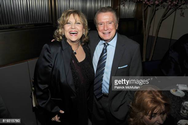 Brenda Vaccaro and Regis Philbin attend HBO Films NYC Premiere AfterParty for 'YOU DON'T KNOW JACK' at The Four Seasons Restaurant on April 14 2010...
