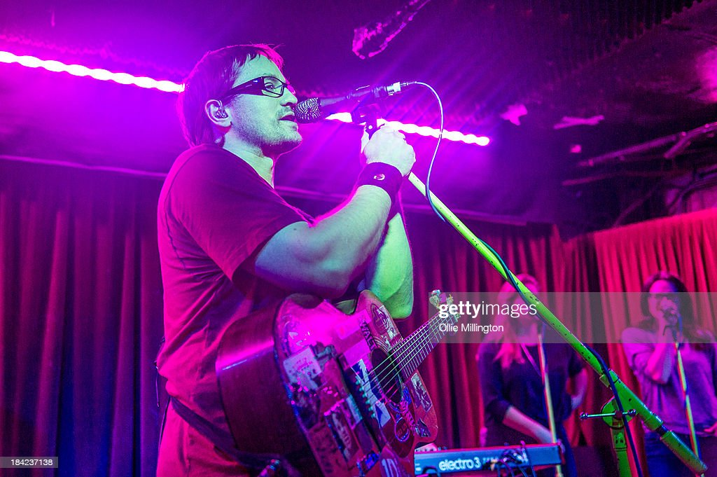Brendan B Brown of Wheatus performs on stage at Borderline on October 12, 2013 in London, England.