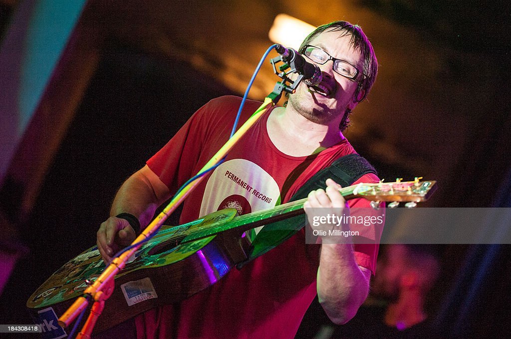 Brendan B. Brown of Wheatus performs on stage at Borderline on October 12, 2013 in London, England.