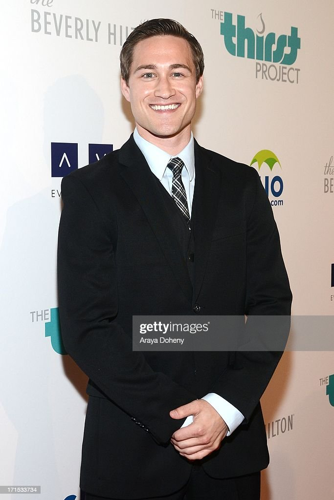 Brendan Bradley attends the 4th Annual Thirst Gala at The Beverly Hilton Hotel on June 25, 2013 in Beverly Hills, California.
