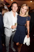 Brendan Cole and Zoe Cole attend an after party celebrating the press night performance of 'Benvenuto Cellini' directed by Terry Gilliam for the...