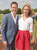 Brendan Cole and Zoe Cole attend day one of the Audi Polo Challenge at Coworth Park on May 30 2015 in London England