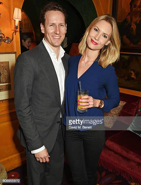 Brendan Cole and Zoe Cole attend the launch of GP Nutrition Supplements a collection of five premium nutritional programmes perfect for modern living...