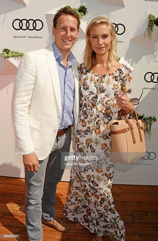 <a gi-track='captionPersonalityLinkClicked' href=/galleries/search?phrase=Brendan+Cole&family=editorial&specificpeople=795809 ng-click='$event.stopPropagation()'>Brendan Cole</a> (L) and Zoe Cole attends day two of the Audi Polo Challenge at Coworth Park on May 29, 2016 in London, England.