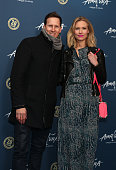 Brendan Cole and Zoe Hobbs arrive for Cirque Du Soleil Amaluna at Royal Albert Hall on January 19 2016 in London England