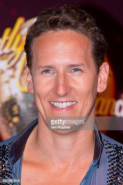 Brendan Cole arrives for the launch of 'Strictly Come Dancing 2016' at Elstree Studios on August 30 2016 in Borehamwood England