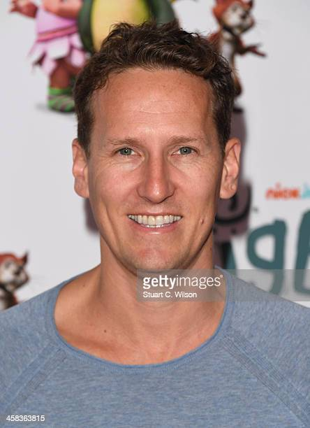 Brendan Cole arrives for the world premiere of new Nick Jr series Digby Dragon launching on Monday 4th July at 430pm at The Conservatory Barbican...