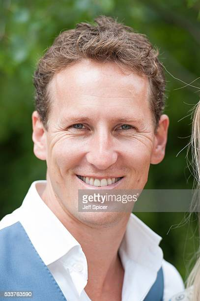 Brendan Cole attends Chelsea Flower Show press day at Royal Hospital Chelsea on May 23 2016 in London England