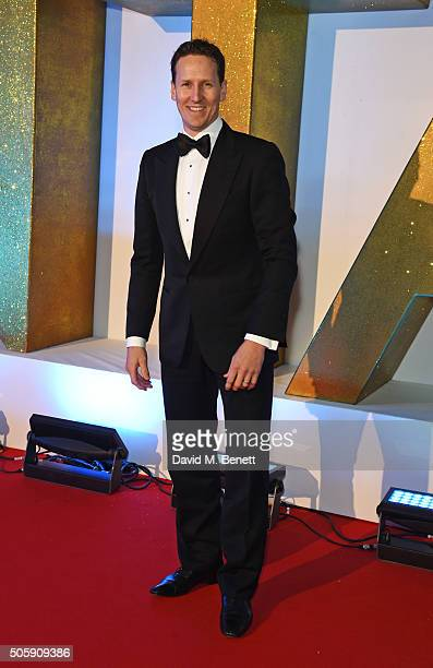 Brendan Cole attends the 21st National Television Awards at The O2 Arena on January 20 2016 in London England