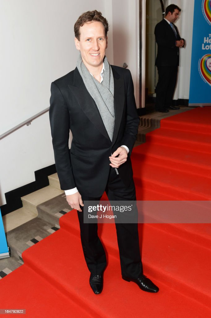 Brendan Cole attends the Health Lottery champagne tea at Claridges on March 28, 2013 in London, England.