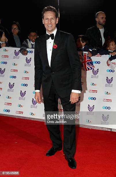 Brendan Cole attends the Pride Of Britain awards at the Grosvenor House Hotel on October 31 2016 in London England