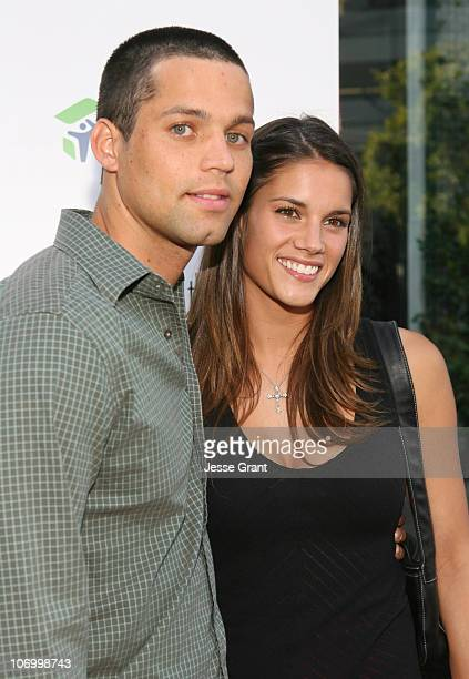 Brendan Countee and Missy Peregrym during 'Love Letters to the South Messages of Hope and Healing from the World's Best Loved Celebrities' Los...